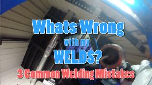 common welding problems
